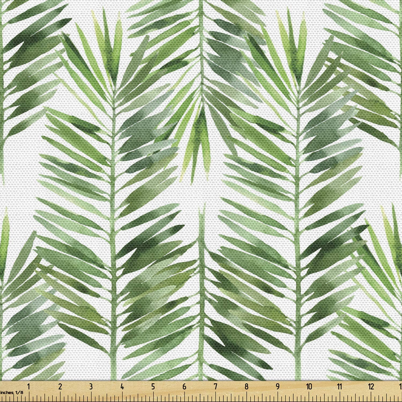 10 Yards Classy Palm Tree Printed Handblock Printed Smooth Handmade Fashion Apparel Dress Material For Men-Women Home Decor Running Fabric
