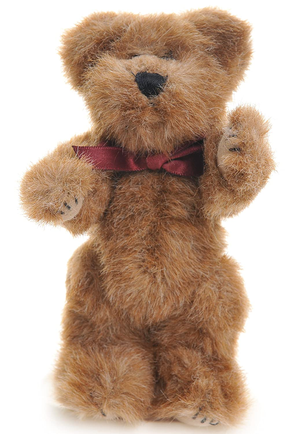 Neville 6 inch Jointed Braun plush bear by Boyds