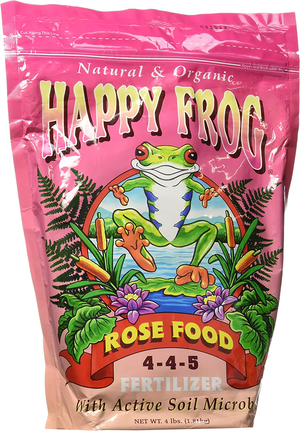FoxFarm FX14064 Happy Frog Rose Fertilizer, 1 N