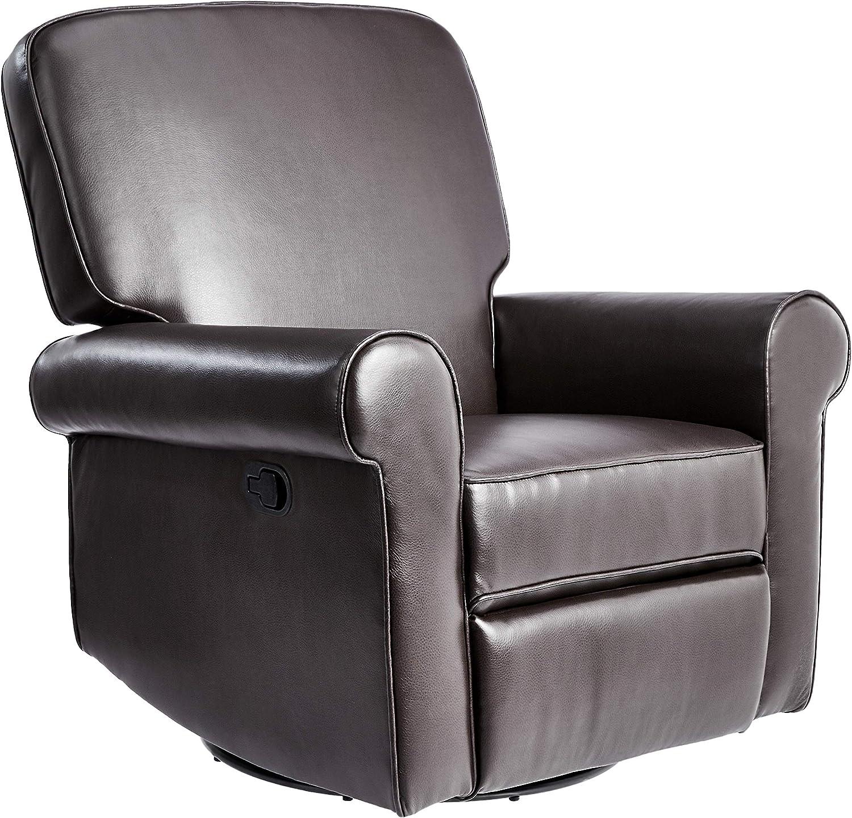 JC Home Swivel&Glider recliner, one size, Brown