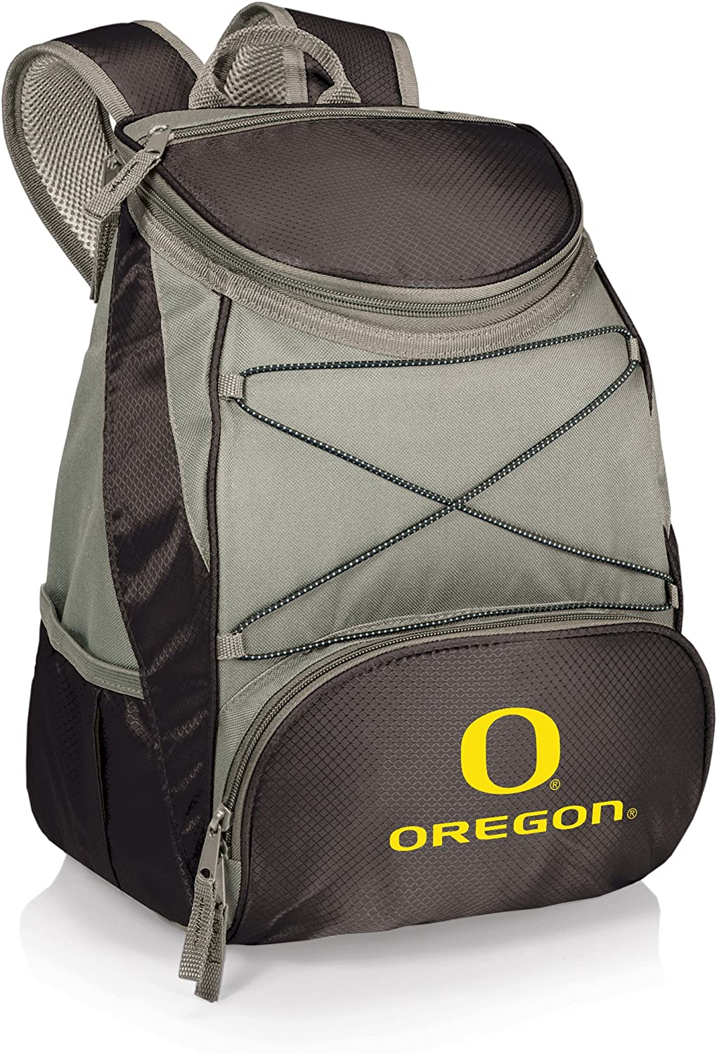PICNIC TIME NCAA Oregon Ducks PTX Insulated Backpack Cooler Black