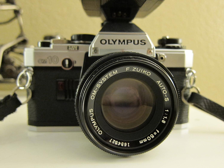 Olympus OM-10 + Zuiko MC Auto-S 50mm f1.8 Camara réflex de 35mm ...