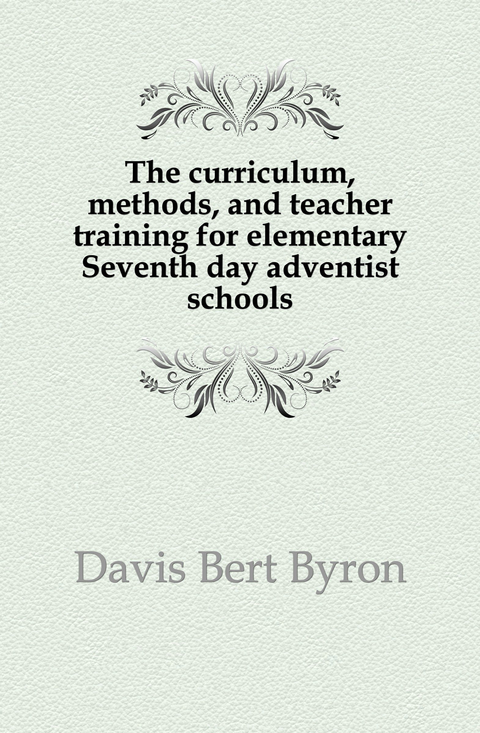 The curriculum, methods, and teacher training for elementary