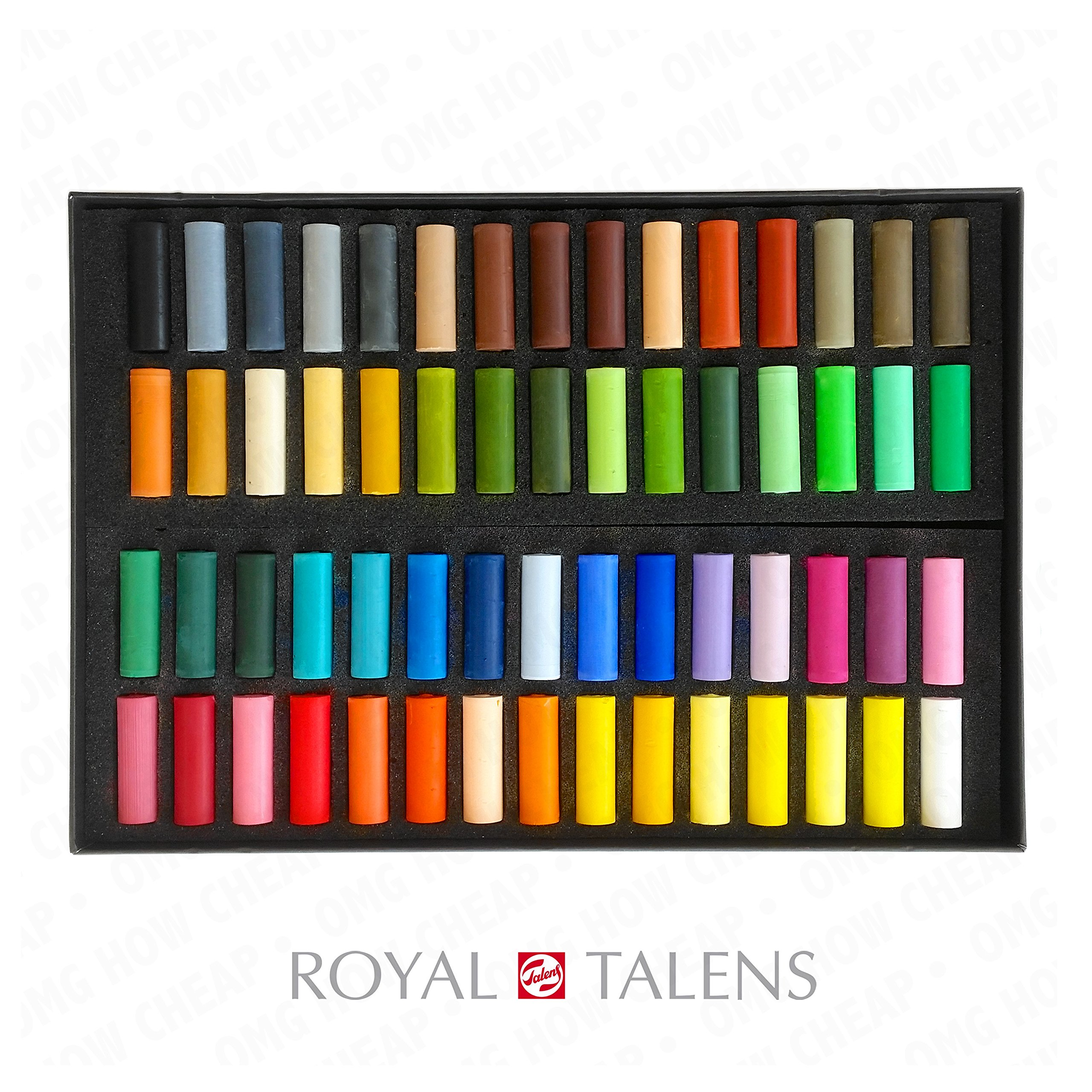 Royal Talens - Rembrandt Extra Fine Soft Pastel - Artist Quality - De Luxe Set of 60 by Royal Talens
