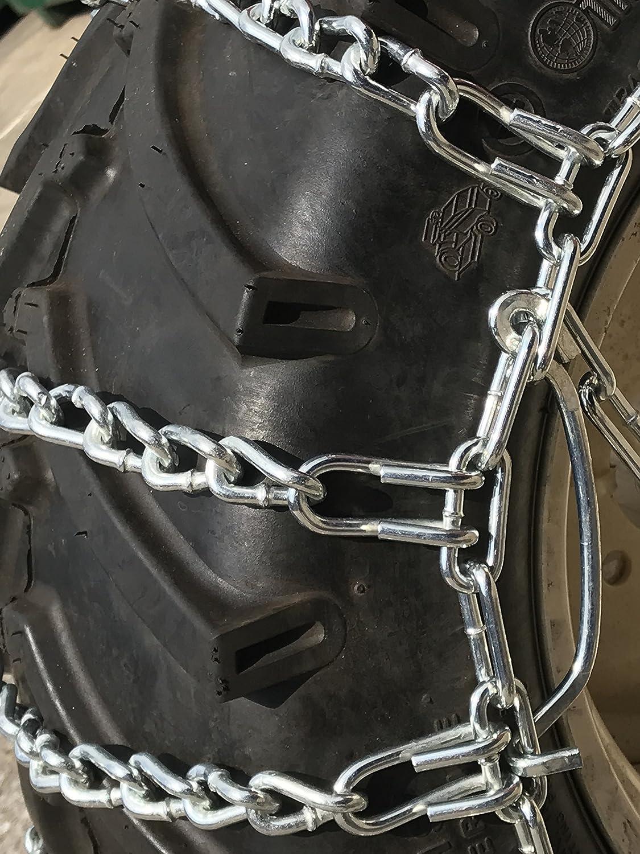 Priced per Pair TireChain.com Kubota G1800 23x10.5-12 Tire Chains