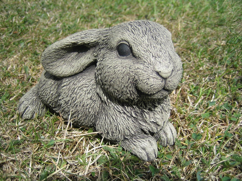 Rabbit stone garden ornament (N) neilsstonecraft