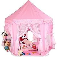 KIDUKU® Tienda de juego para niños castillo para jugar castillo de princesa tienda de campaña