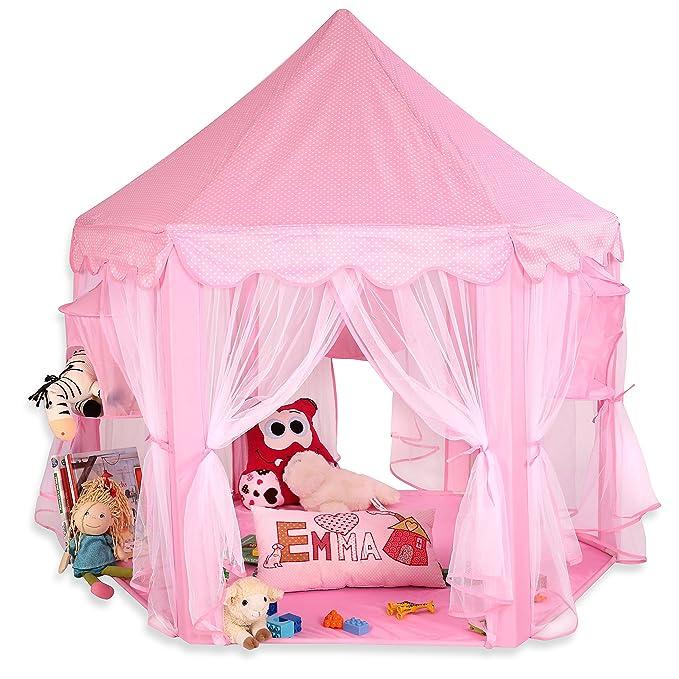 33 opinioni per KIDUKU Tenda gioco per Bambini Rosa, Castello di gioco, Castello principessa
