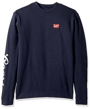 Amazon.com  Brixton Men s Coors Banquet Crew Fleece Sweatshirt  Clothing 38613408088