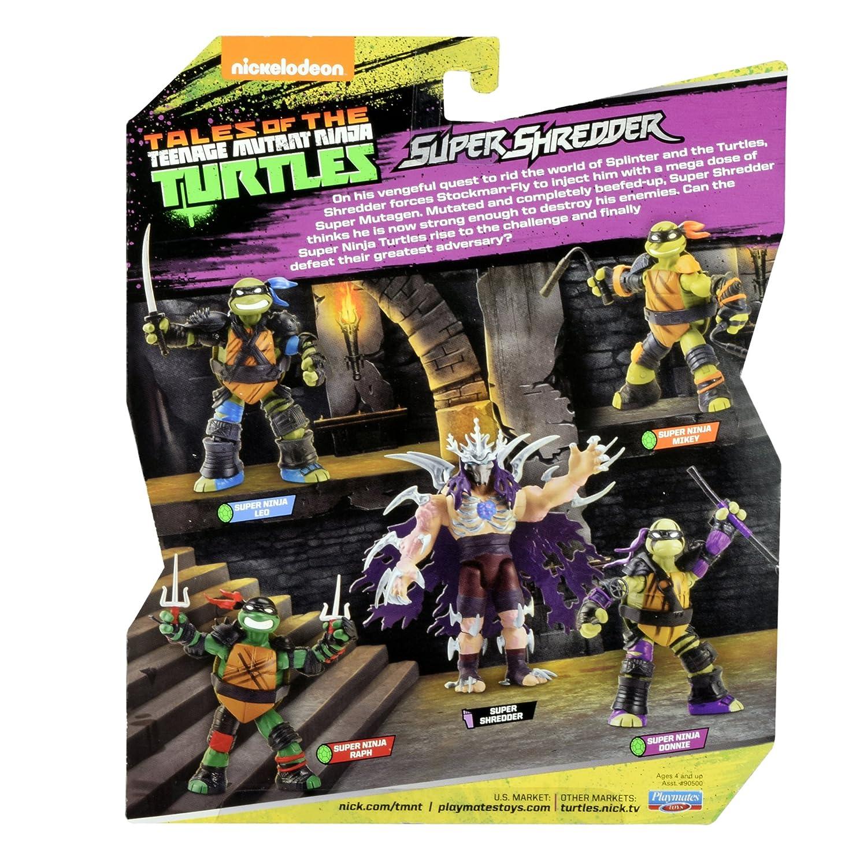 Teenage Mutant Ninja Turtles Super Ninja Raphael Action Figure Playmates Toys 90682