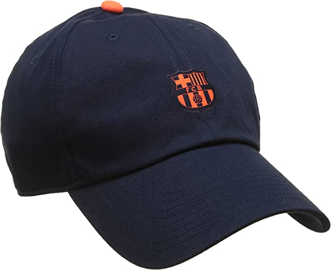 Nike - FC Barcelona Heritage 86 - Gorra ajustable Unisex, Obsidian ...