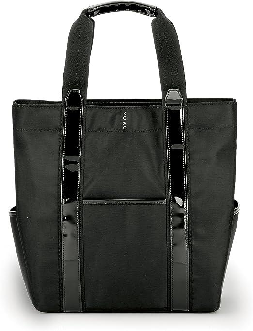 KoKo here warm cold tote bag Francis Black KO662BLK 0541al