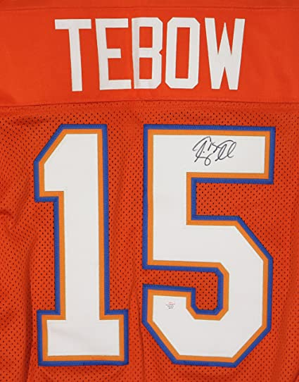 premium selection 8c232 76af9 Tim Tebow Florida Gators Signed Autographed Orange #15 ...