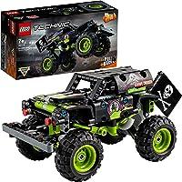 LEGO 42118 Technic Monster Jam Grave Digger Vrachtwagen, Off-Road Buggy Pull Back Motor 2 in 1 Bouwset voor Kinderen…