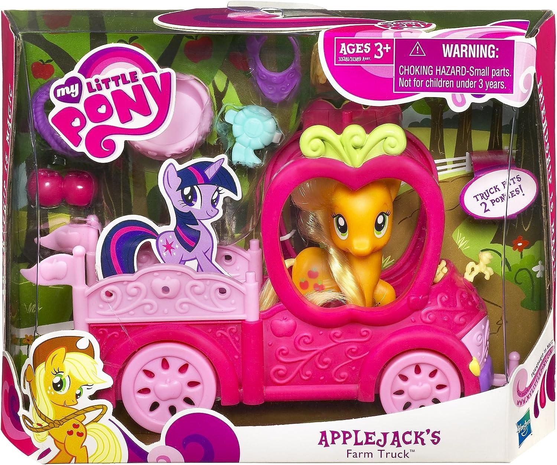 Amazon.com: My Little Pony Apple Jack's Truck: Toys & Games