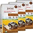 Jovial Einkorn Baking Flour   100% Organic Einkorn Whole Wheat Flour   100% Whole Grain   High Protein   Non-GMO   USDA Certified Organic   Delicious Taste   Product of Italy   32 oz (3 Pack)