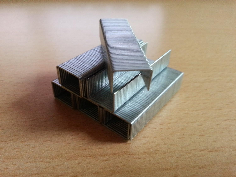 Bo/îte de 5000 agrafes de type 53 longueur 12//11,4 12 mm largeur mm pour cloueur dimensions 11.4