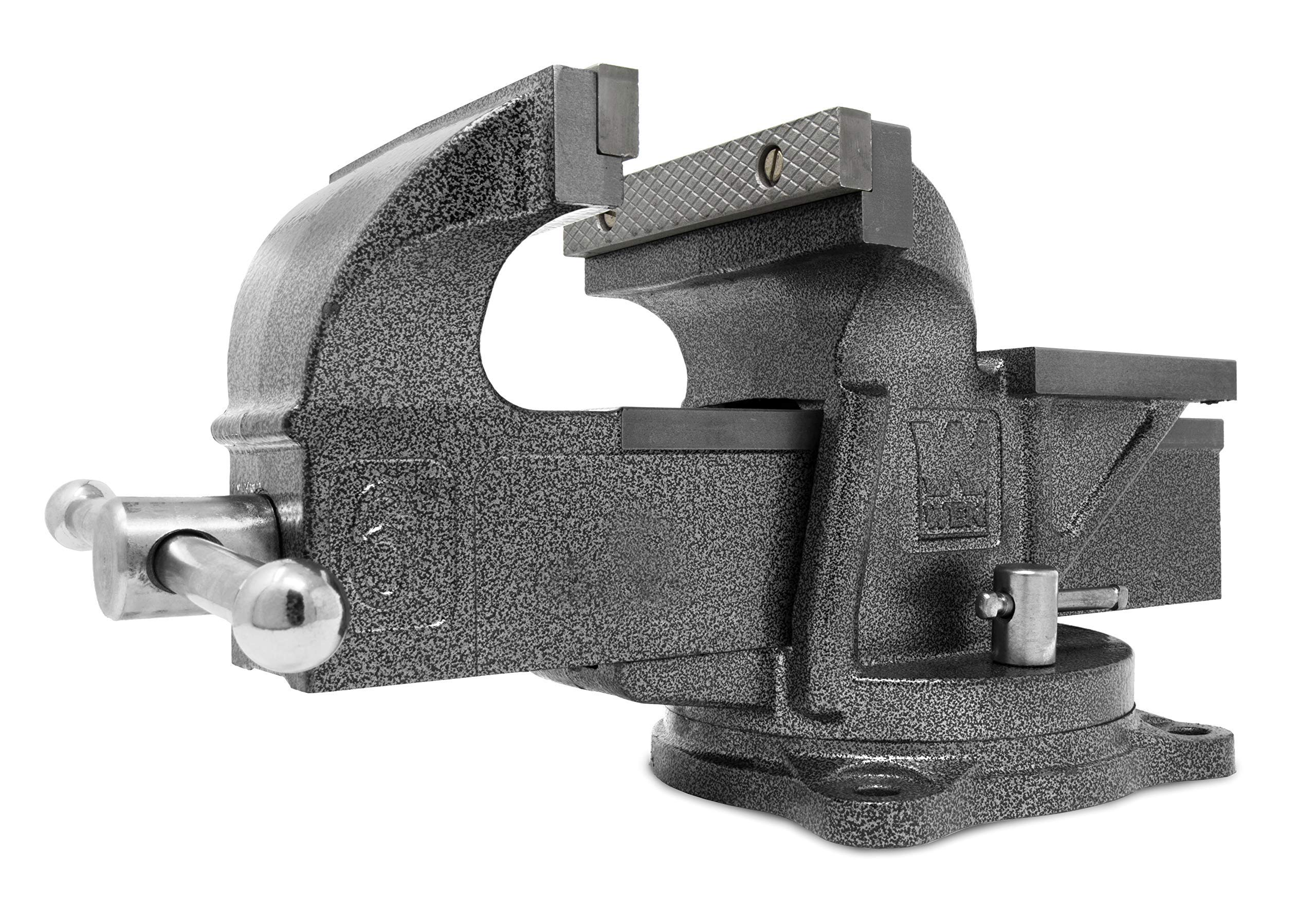 WEN 456BV 6-Inch Heavy Duty Cast Iron Bench Vise with Swivel Base (Renewed) by WEN (Image #1)