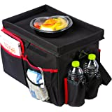 Create Story Car Seat Cooler and Back Seat Organizer Carpack Keep Things Accessible & Organized Snack & Play Tray, Convert to a Bag, Attach to Car Seat to Prevent Slide-off