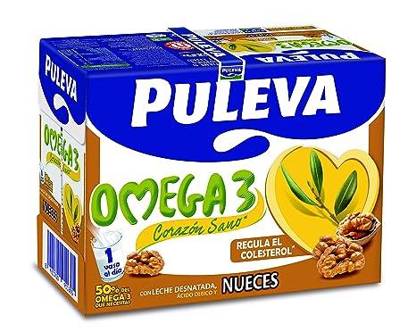 Puleva Omega 3 con Nueces - Pack 6 x 1 L