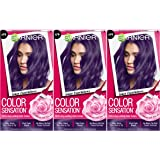 Garnier Hair Color Sensation Hair Cream, Grape Expectations, 3 Count