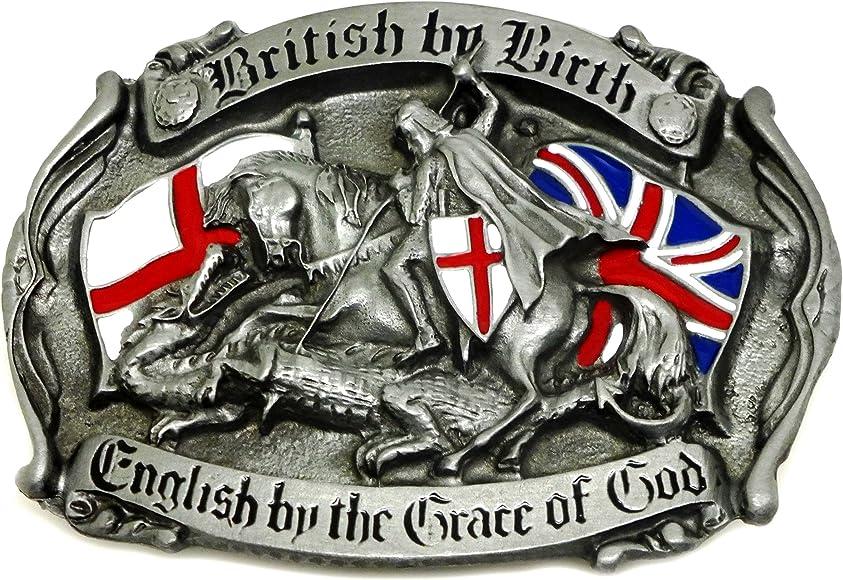 England /& St George Belt Buckle