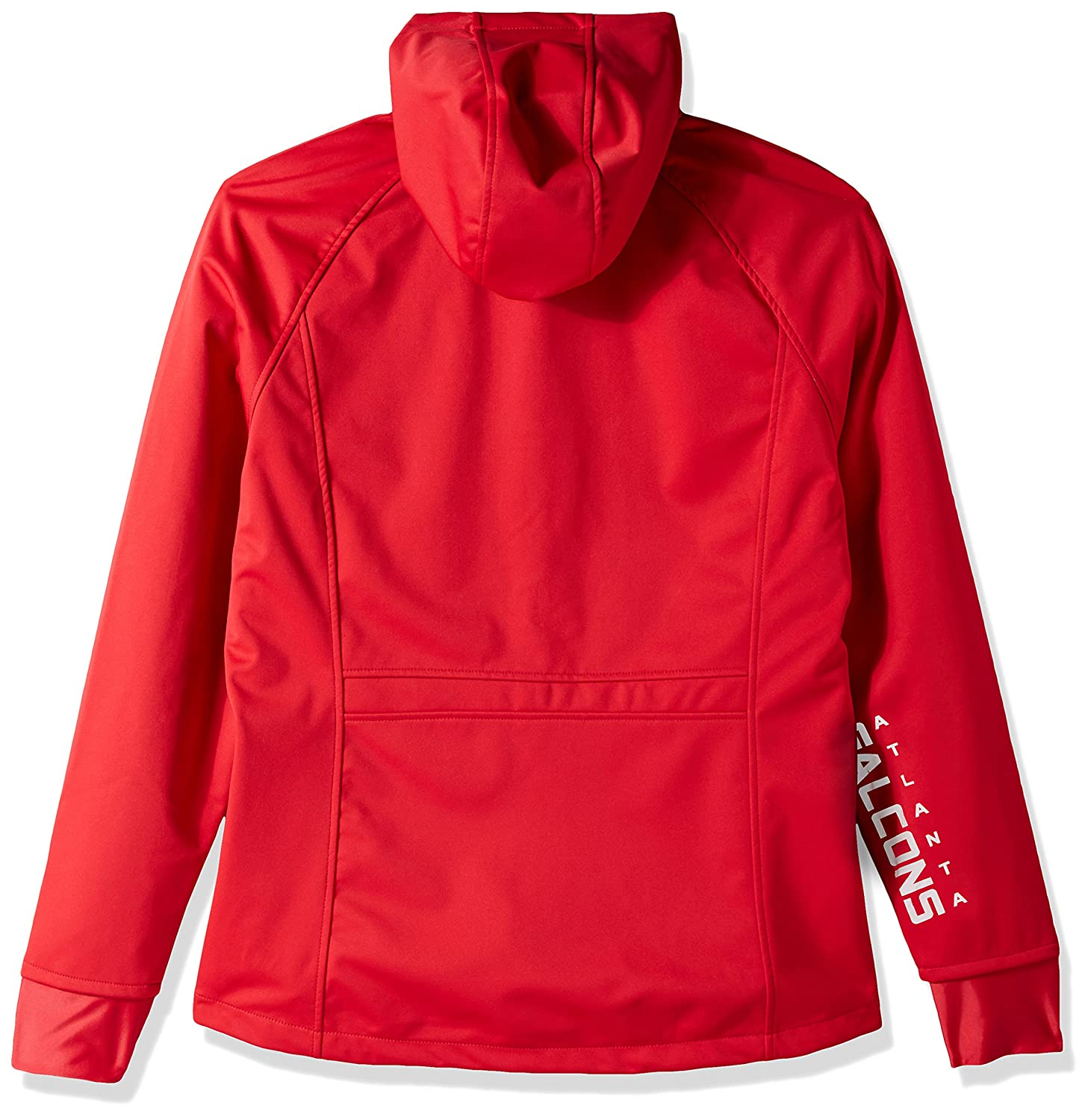 G-III Womens Cut Back Soft Shell Jacket Red Small