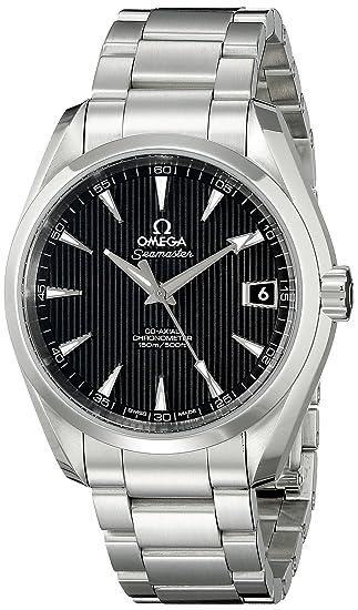Omega de hombre 23110392101001 analógico automático para hombre plateado reloj: Omega: Amazon.es: Relojes