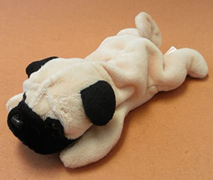 Buy TY Beanie Babies Pugsly the Pug Dog Plush Toy Stuffed Animal Online at  Low Prices in India - Amazon.in b71cd73854