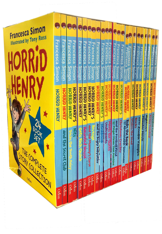 Horrid Henrys Revengehorrid Henry Francesca Simon Wiring Library Maxon Panel Heater Diagram Buy The Complete Story Collection 24 Books Box Set Book Online At Low Prices