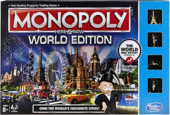 Monopoly World Edition: Amazon.es: Juguetes y juegos
