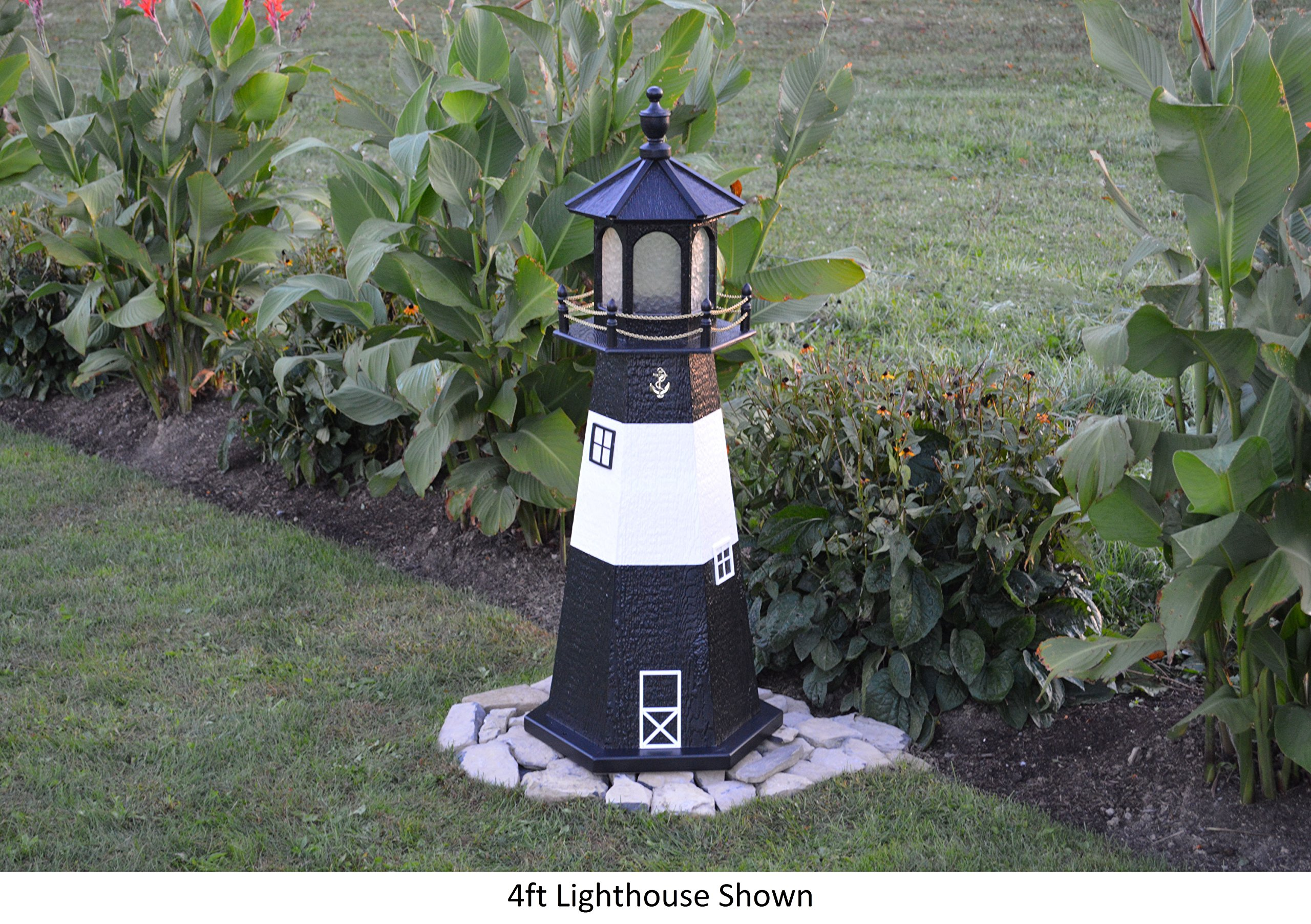 Amish-Made Tybee Island, GA Replica Lighthouse, 39'' Tall