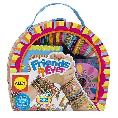 Alex DIY Friends Forever Bracelet Kit Kids Art and Craft Activity: Toys & Games