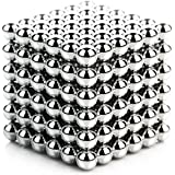 MONOLIT DIY Magnetic Balls, Magnetic Sculpture Toy for Development of Intelligence and Stress Relief, Fun Office Toy (216 Small Balls - 5mm), Desktop Toy