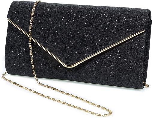 Exquisite Evening Bag Shoulder Bag for Wedding and Party Crossbody Bag Evening Envelope Handbag Clutch Purses for Women Purple