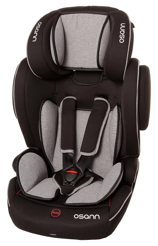 Osann Kindersitz Flux Isofix 9-36KG Grey Melange (Grey Melange)