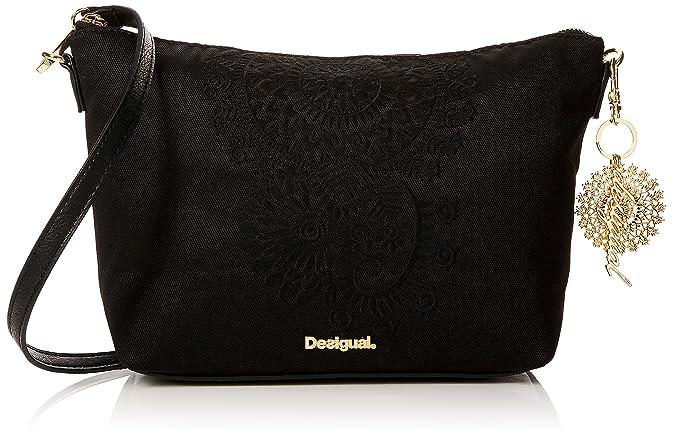 Desigual - 18SAXF77 - Sacs portés épaule - Femme - Noir - 30x15x31 cm