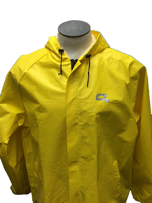 Amazon.com : O2 Rainwear Men's Element Series Hooded Jacket ...