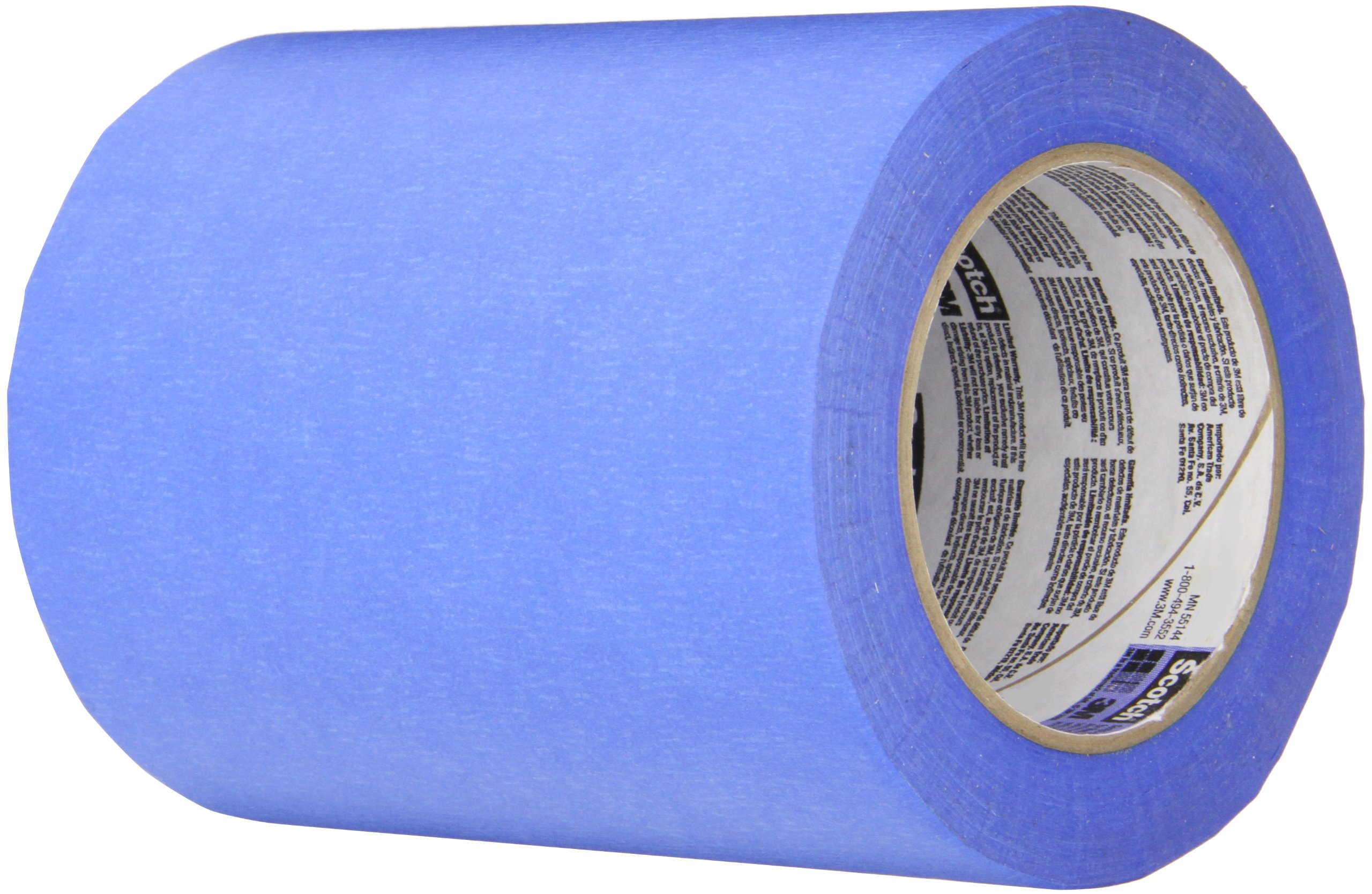 3M 2090 Scotch-Blue Painters Tape, 6'' width x 60yd length (1 roll) by TapeCase