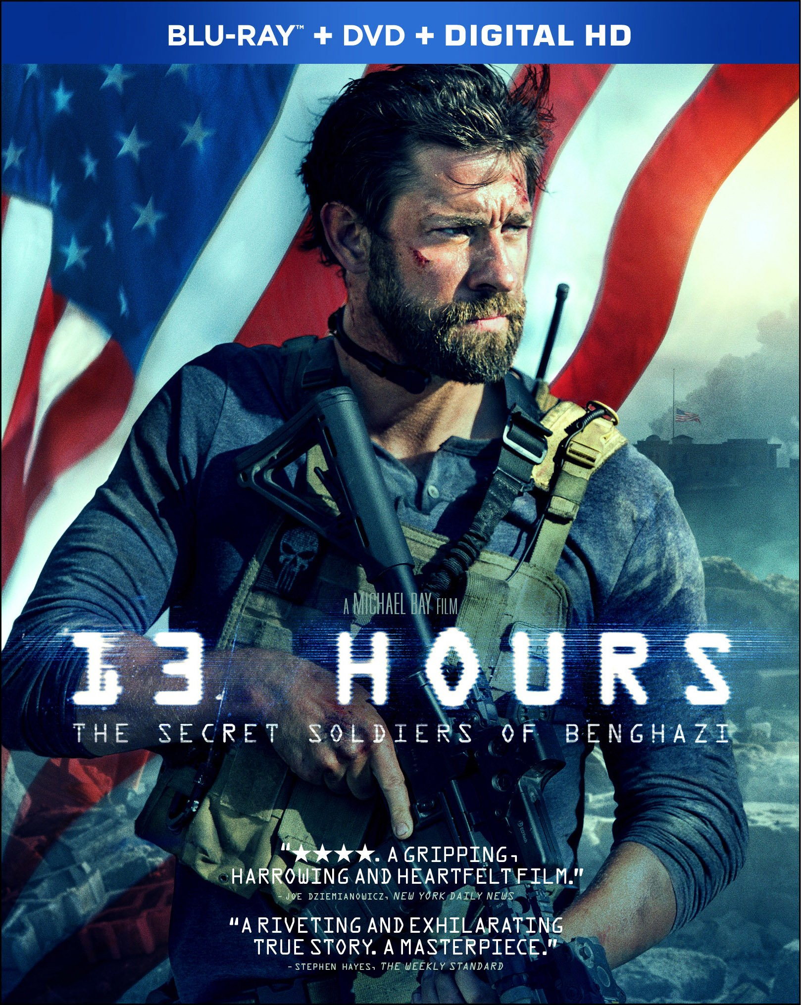 Blu-ray : 13 Hours: The Secret Soldiers of Benghazi (With DVD, 2 Pack, Digitally Mastered in HD, 2 Disc)