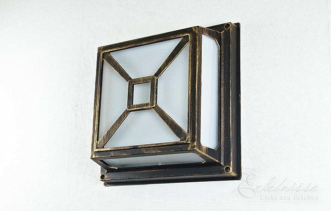 Plafoniere Da Esterno Rustiche : Rustico bagnato lampada per parete o coperta luce esterni in