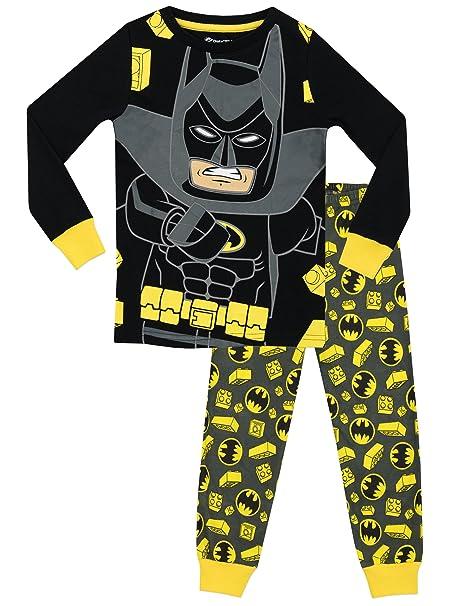 Lego Batman - Pijama para Niños - Lego Batman - Ajuste Ceñido - 10 - 11