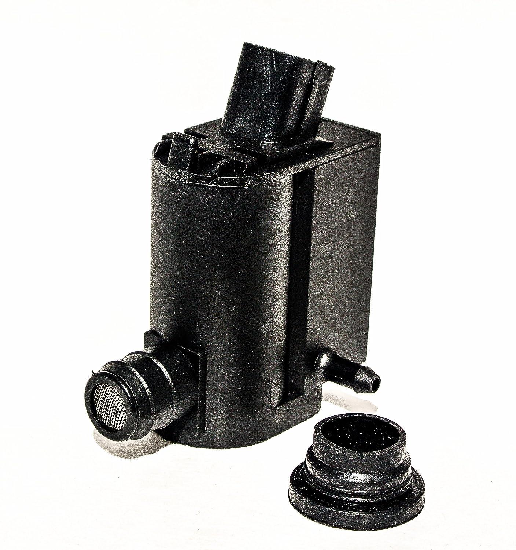 Windshield Washer Pump with Grommet Fits Kia Rio Sorento Spectra by GOSENSORS GO-1016
