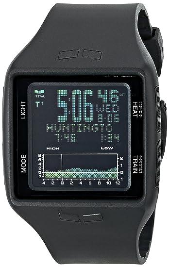 Vestal BRG001 - Reloj de caballero de cuarzo, correa de plástico color negro: Vestal: Amazon.es: Relojes