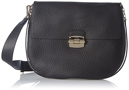 d792c4c091ce FURLA Women s Club Crossbody Medium Onyx  Amazon.in  Shoes   Handbags