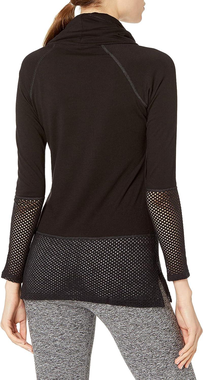 NUX Damen Sweatshirt Schwarz