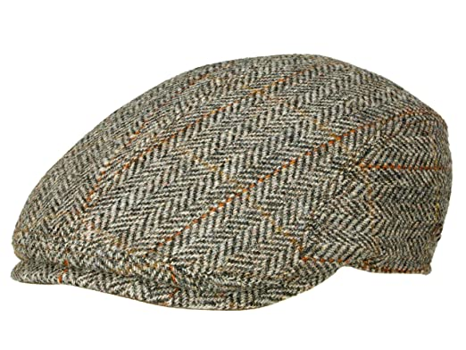 52a4ae46 Göttmann Men's Flat Cap Jackson-3 - Grey: Amazon.co.uk: Clothing