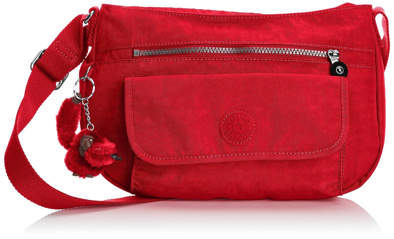 Kipling Syro Shoulder Bag (Tango Red)