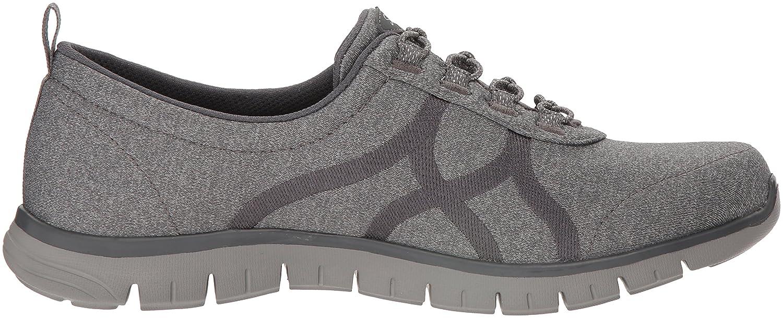 Skechers Women's Ez Flex Renew-Bright Days Sneaker B07B2MS6ZM 5 B(M) US Charcoal