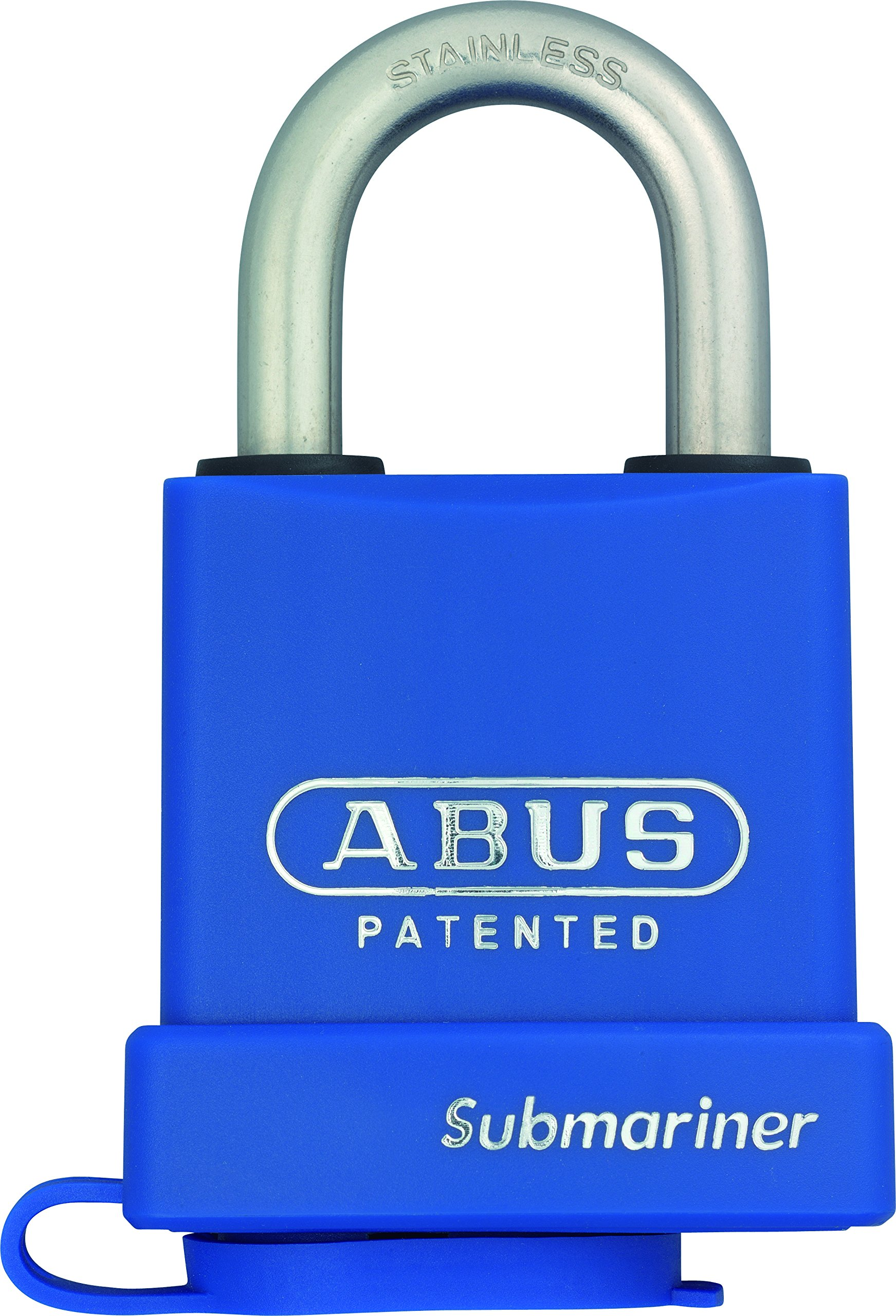 ABUS 83WP-IB/53-300 S2 C KD Schlage All Weather Brass Chrome Plated Rekeyable Padlock Submariner with 1-Inch Stainless Steel Shackle, Keyed Different